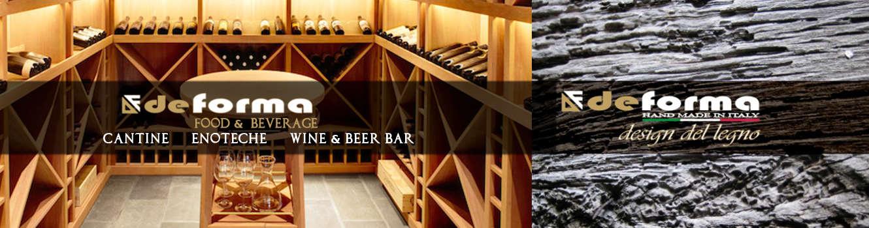 Home arredamento cantine vinicole su misura arredi per - Mobili per cantine ...