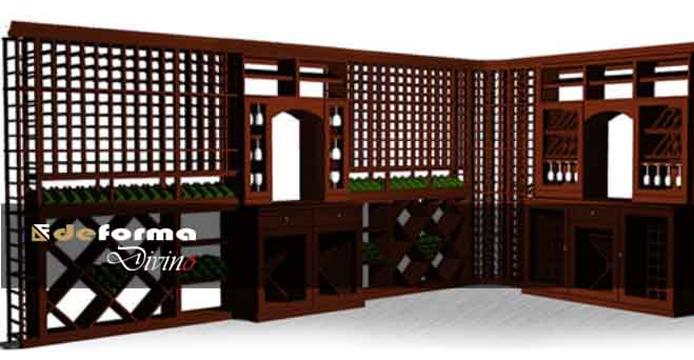 Arredamento cantine su misura arredamento cantina for Arredamento cantina vino