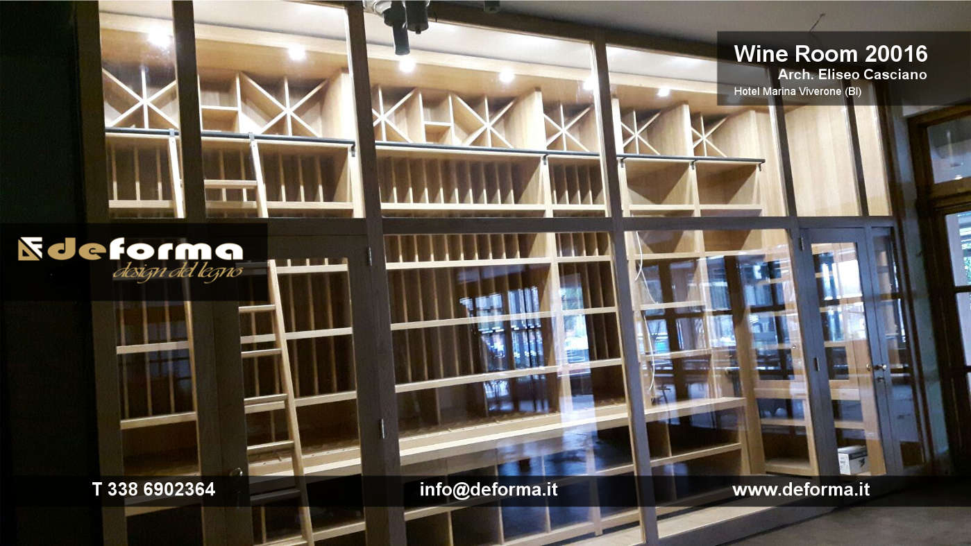 Arredamento cantine private arredamento su misura per cantine private progettazione e - Mobili per cantine ...