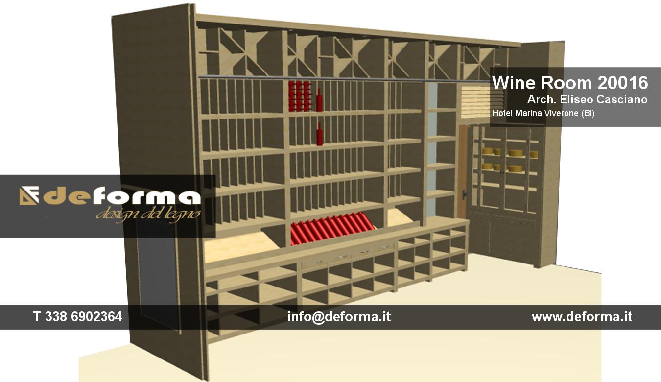 Arredamento cantine su misura arredamento cantina enoteca e wine bar progetti e arredi per - Mobili per cantine ...
