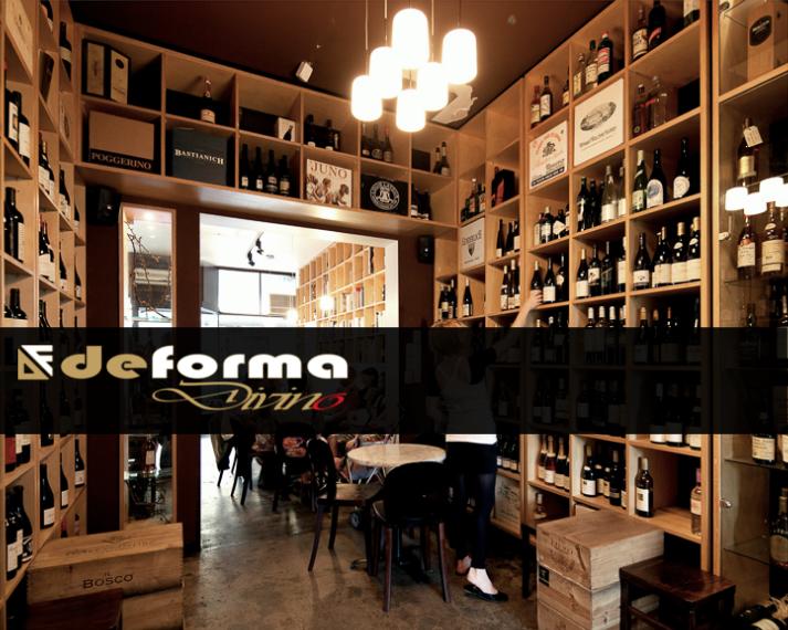 Arredamento Bar Bologna.Deforma Design Del Legno