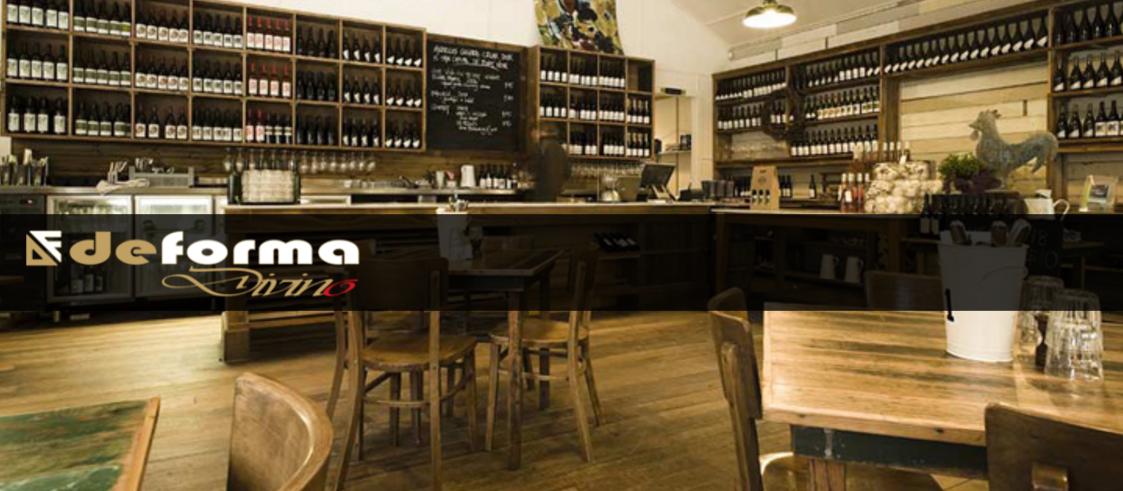 Caratteristiche arredamento cantina enoteca e wine bar for Arredamento wine bar